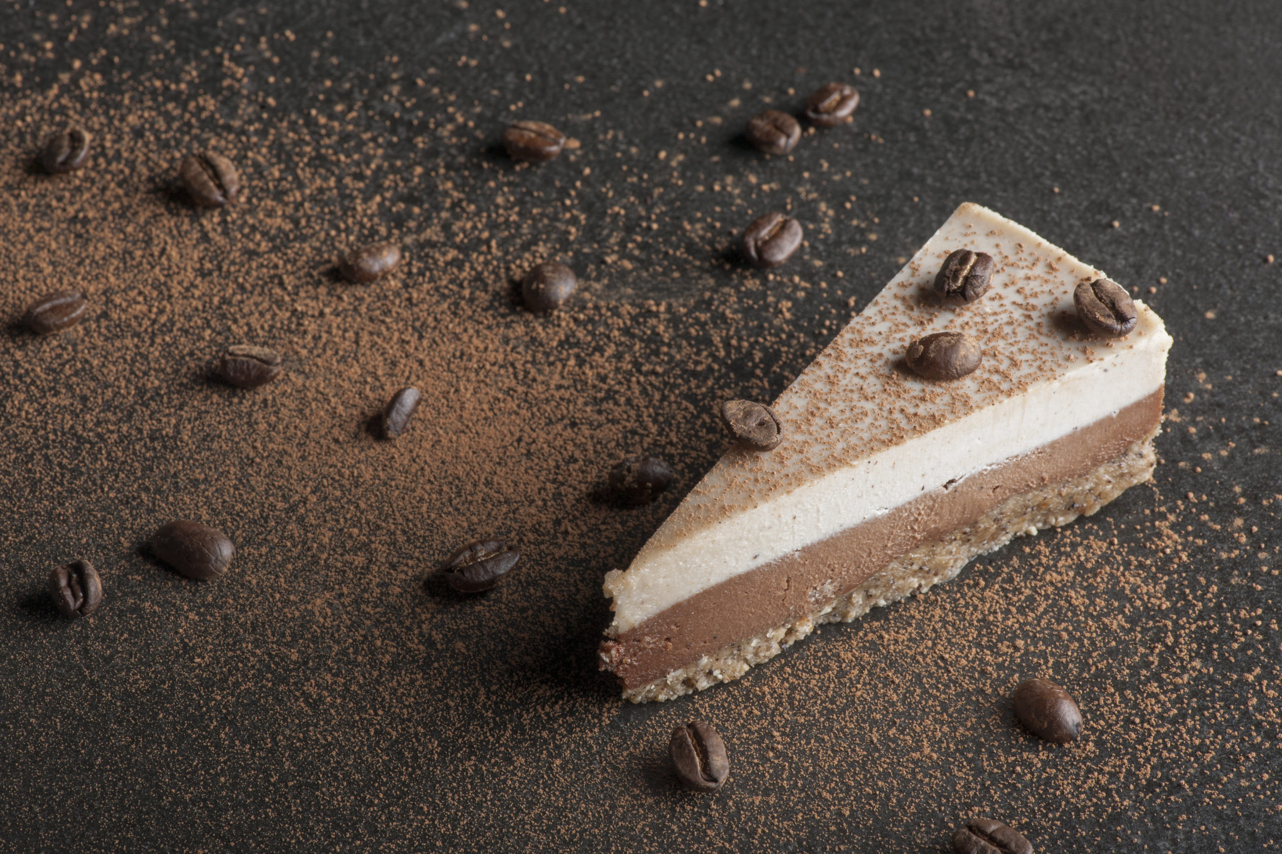 Cafe Mocha Raw Cake
