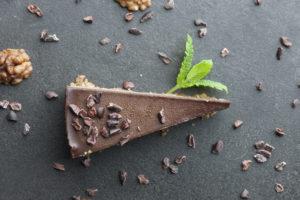 Mint Chocolate Rawa Cake