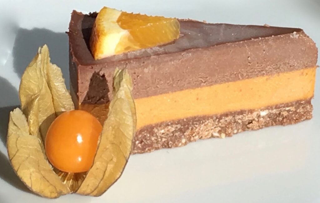 Orange Choco Raw Cake