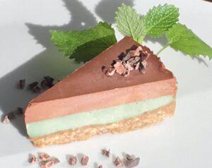 Mint Choco Raw Cake